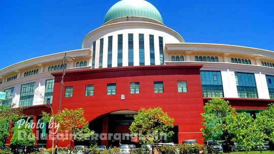 Kompleks Sabah 2 540x304 Kompleks Pentadbiran Kerajaan Persekutuan Sabah
