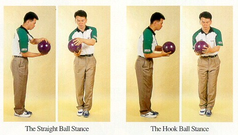 bowling stance photo