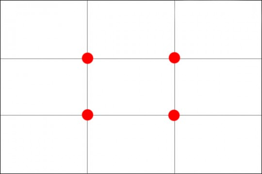 Rule of Thirds Grids 540x360 Prinsip Asas Fotografi   Rule Of Thirds