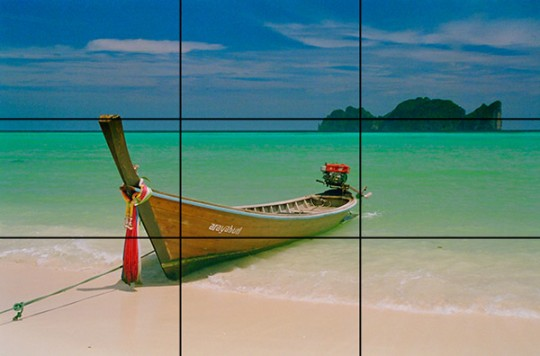 landscape rule of thirds 540x356 Prinsip Asas Fotografi   Rule Of Thirds
