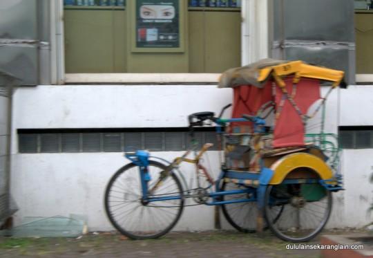 Becak Di Indonesia
