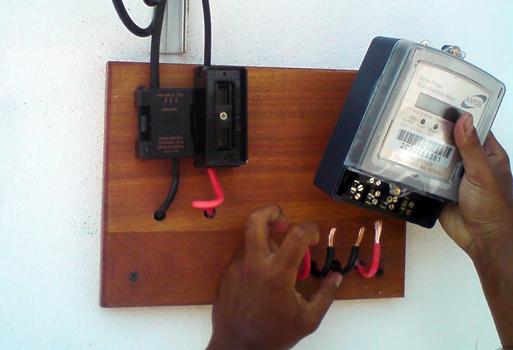 Meter Tampering Electricity Theft   Meter Tempering Case