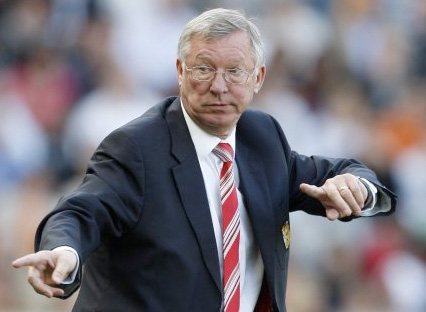 Sir Alex Ferguson Squeaky Bum Time