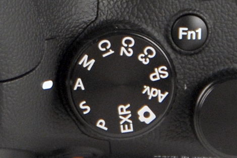 Aperture priority mode photo