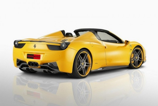 Ferrari 458 Spider 540x363 Ferrari 458 Spider Is Now Available In Malaysia