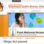 Gaji Minima Bagi Pekerja Di Malaysia