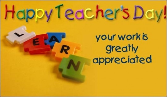 Teachers Day 540x314 Happy Teachers Day