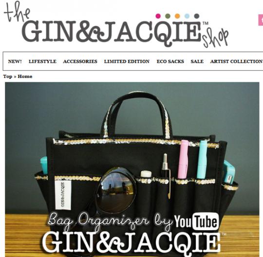 Gin Jacqie site 540x528 The Gin & Jacqie™ Shop
