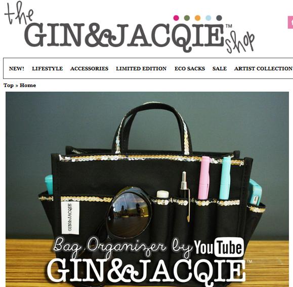 Gin & Jacqie site dulu lain sekarang lain