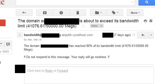 Dilema Bandwidth