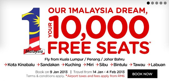 AirAsia Free Tickets 2