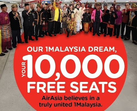 AirAsia Free Tickets