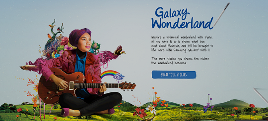 Galaxy Wonderland Malaysias Own Wonderland With Yuna