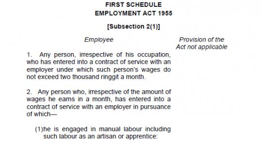 employee 540x296 Gaji Minimum Dan Pekerja Asing
