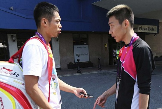 Lin Dan v Chong Wei