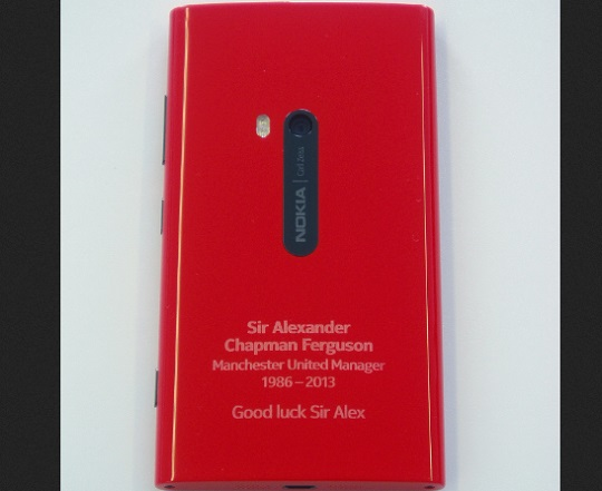 #ThankYouSirAlex: Here's Nokia Lumia 920 For You