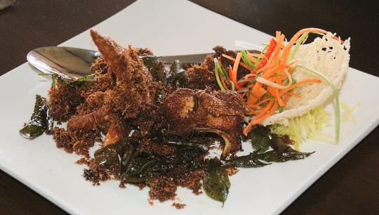 ayam berempah A 5 Star Dining Experience At Mango Restaurant, Tamparuli