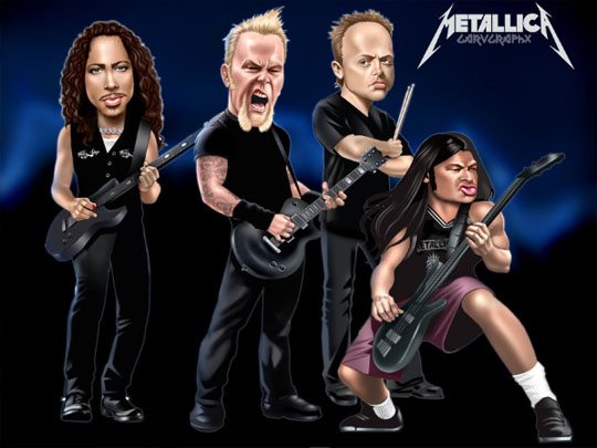 metallica band Enter Sandmen: Metallica LIVE In Malaysia 2013