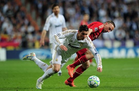 Ronaldo And Ribéry