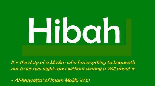 The Basic Rules Pertaining To Hibah