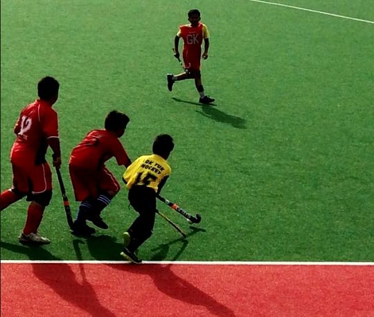 Junior Hockey1 MSS Kota Kinabalu Hockey Tournament