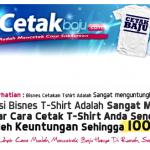 Silkscreen Printing Dan Rahsia Perniagaan Cetak Baju Murah
