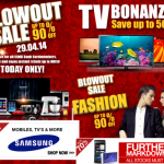Blow Out SALE At Lazada: Discount Up To 90%