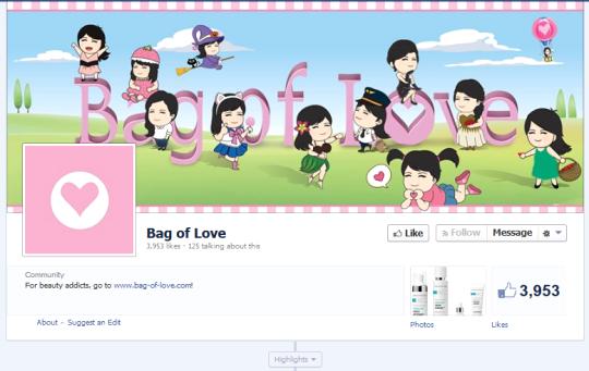 Bag Of Love Facebook
