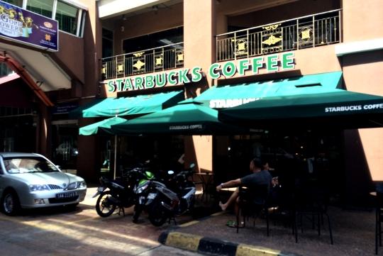 Kedai Kopi Starbucks