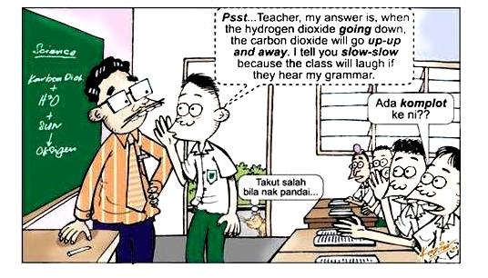 Belajar Bahasa Inggeris