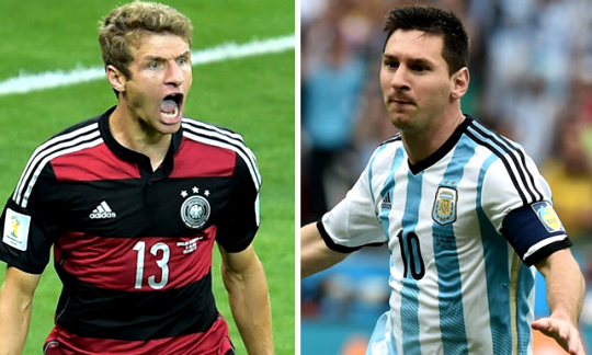 Argentina vs Germany