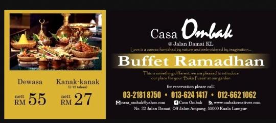 Buffet Ramadhan Casa Ombak Buffet Ramadhan Casa Ombak: Ramadhan Buffet & Meal Deals