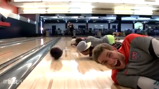 crazy bowling tricks