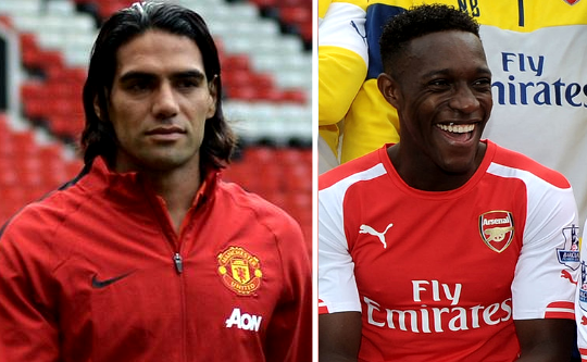 Falcao and Welbeck