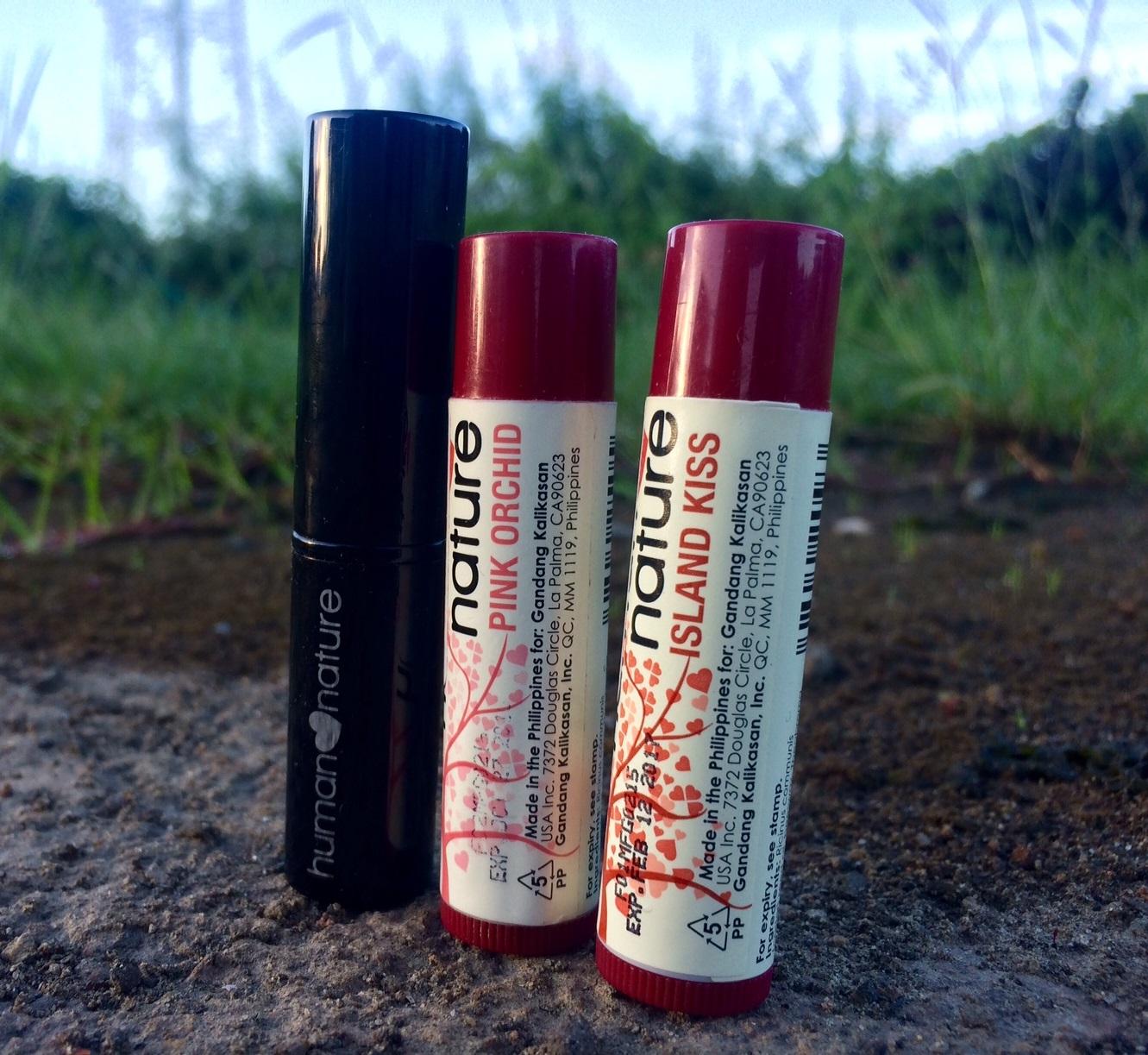 Mineral Lipstik dan lip balm Warna