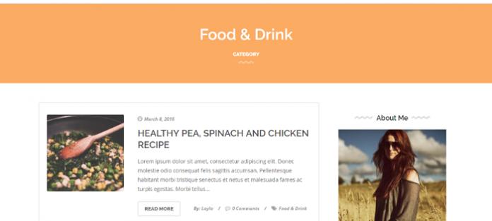 Elegante – Clean And Elegant WordPress Blog Theme