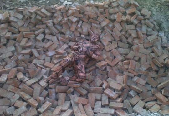 Human-Camouflage-Liu Bolin 2