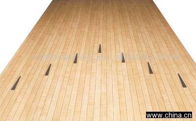tenpin bowling lane