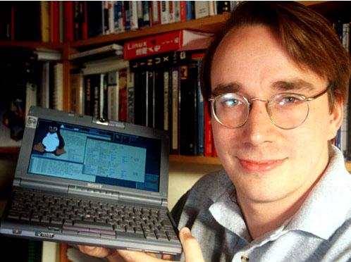 Linus Torvalds hacker