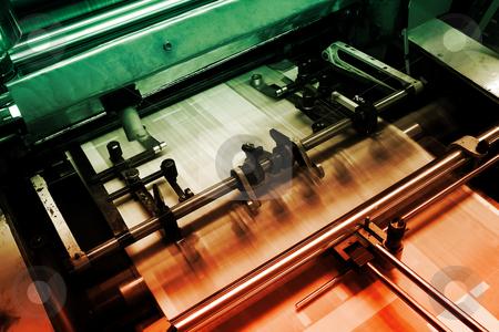 Offset-printing-machine