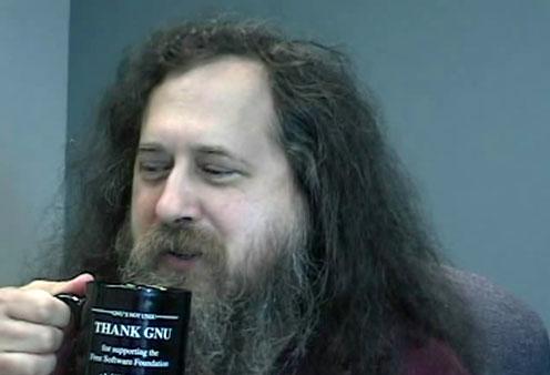 Richard Stallman hacker