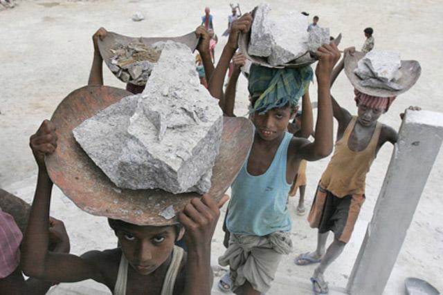 kanak-kanak kerja