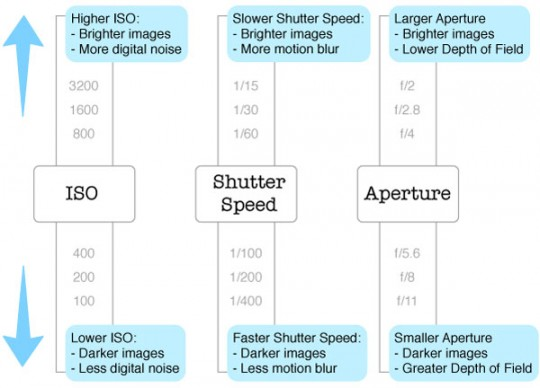 exposure elements