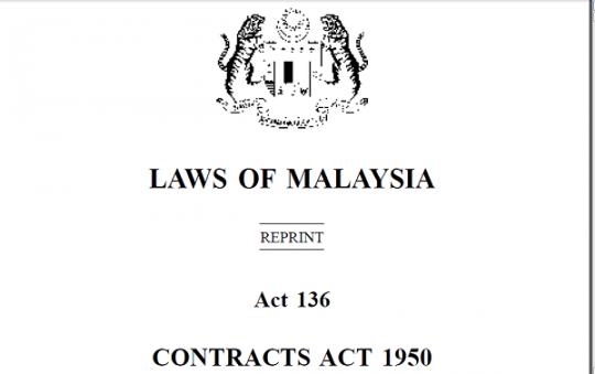 akta kontrak 1950