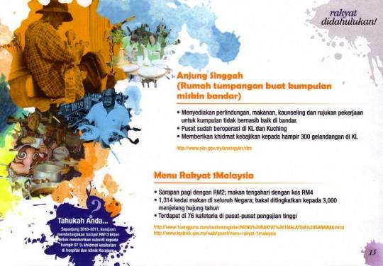 Menu Rakyat 1Malaysia