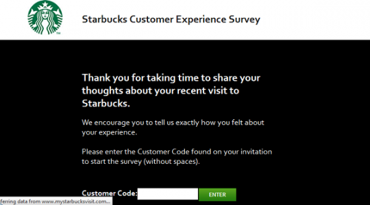 Starbuck Survey