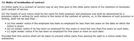 penamatan kontrak kerja