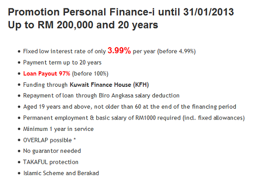 KFH Personal Loan