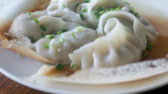 Dumpling-breakfast