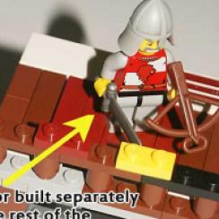 Lego trapdoor